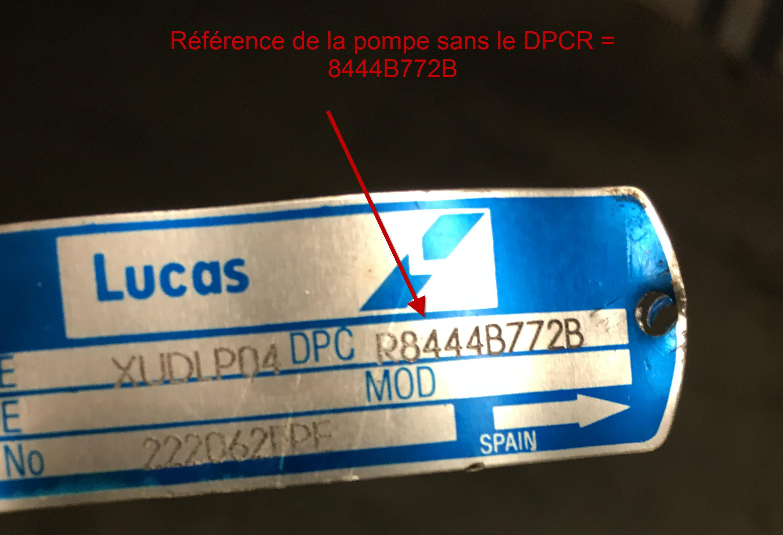 principe de num u00e9rotation pompe injection et injecteur